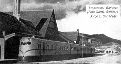 Resultado de imagen para tren a bariloche